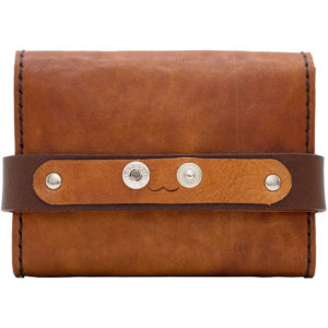 Robotty Leather Pony Dakota Luxury Genuine Leather Wallet All Hand ( Brown )