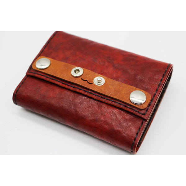 robotty leather pony wallet all hand red gift present mens ladies japan 2