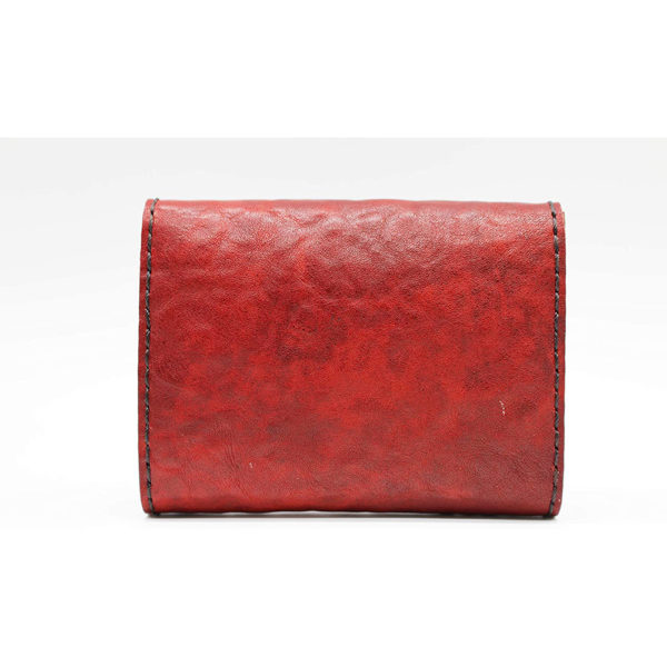 robotty leather pony wallet all hand red gift present mens ladies japan 3