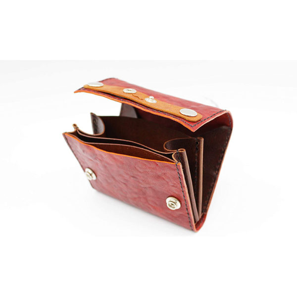 robotty leather pony wallet all hand red gift present mens ladies japan 4
