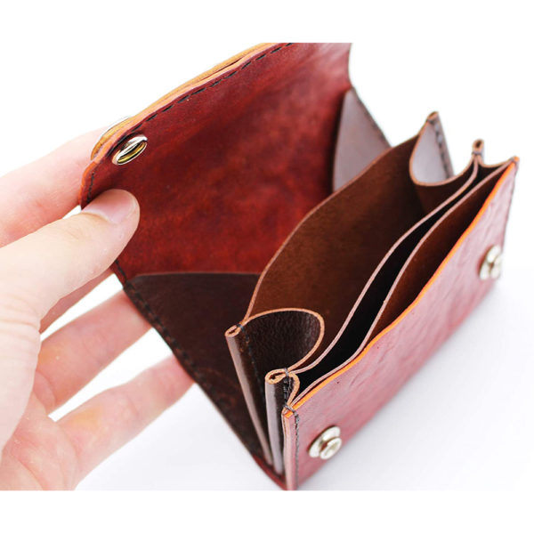 robotty leather pony wallet all hand red gift present mens ladies japan 5