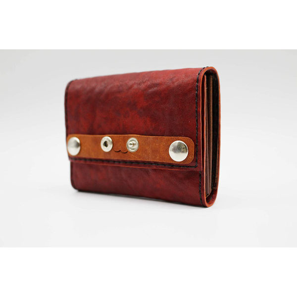 robotty leather pony wallet all hand red gift present mens ladies japan 7