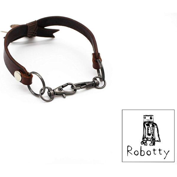 robotty cat callar genuine leather 100 tie present gift fashion 4 2