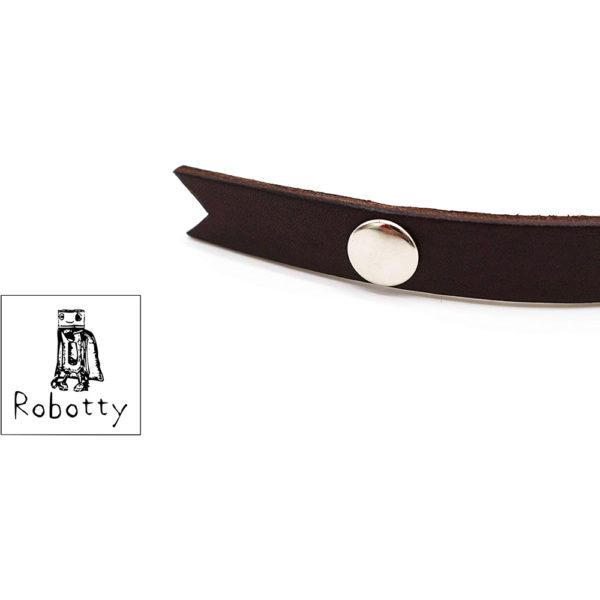 robotty cat callar genuine leather 100 tie present gift fashion 7 1