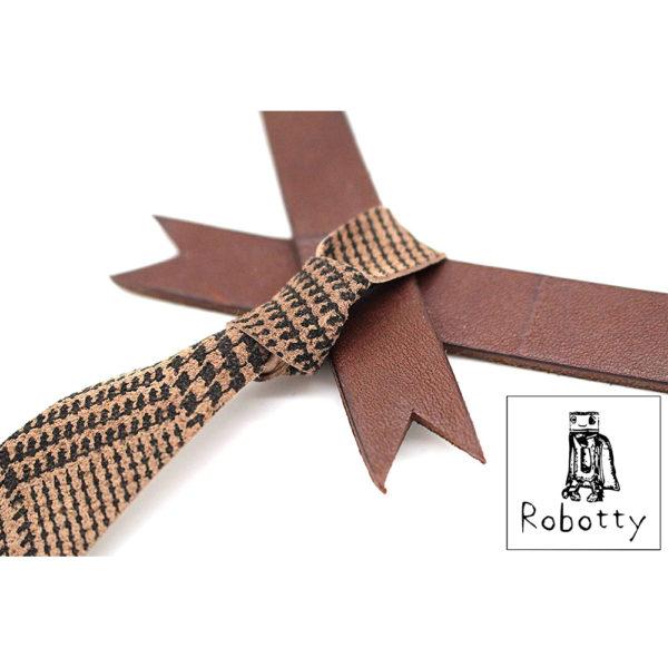 robotty cat callar genuine leather 100 tie present gift fashion 7 2