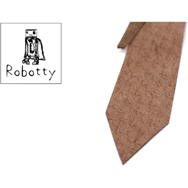 robotty cat callar genuine leather 100 tie present gift fashion 7