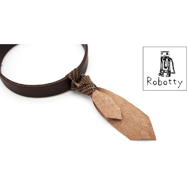 robotty cat callar genuine leather 100 tie present gift fashion 9 1