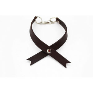 Robotty  Collar genuine leather 100%