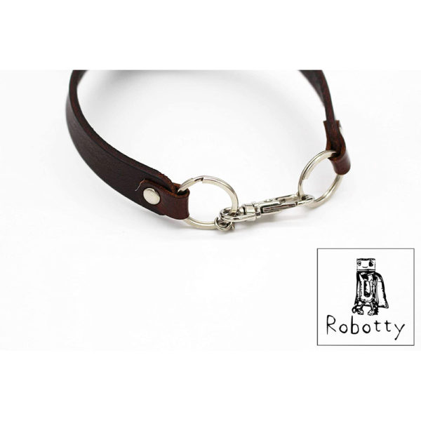 robotty genuine leather 100 tie cat dog gift present 4
