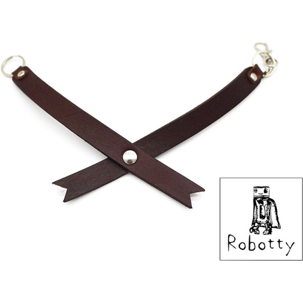 robotty genuine leather 100 tie cat dog gift present 5