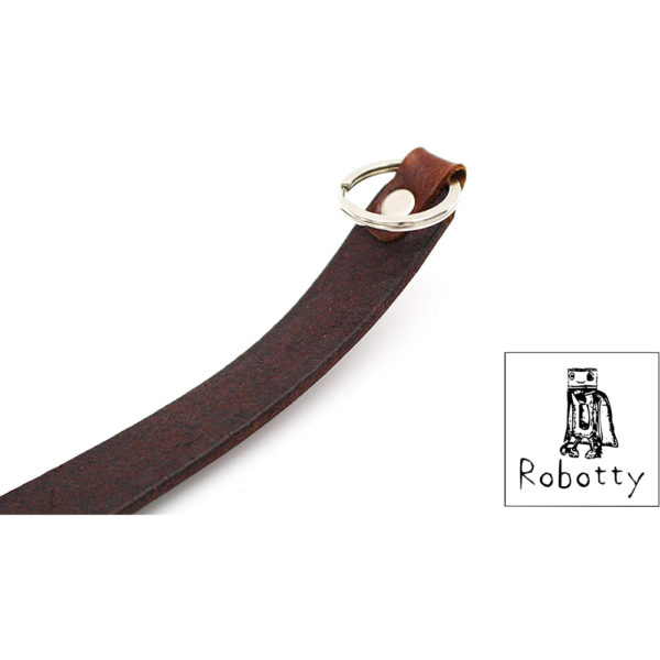 robotty genuine leather 100 tie cat dog gift present 8