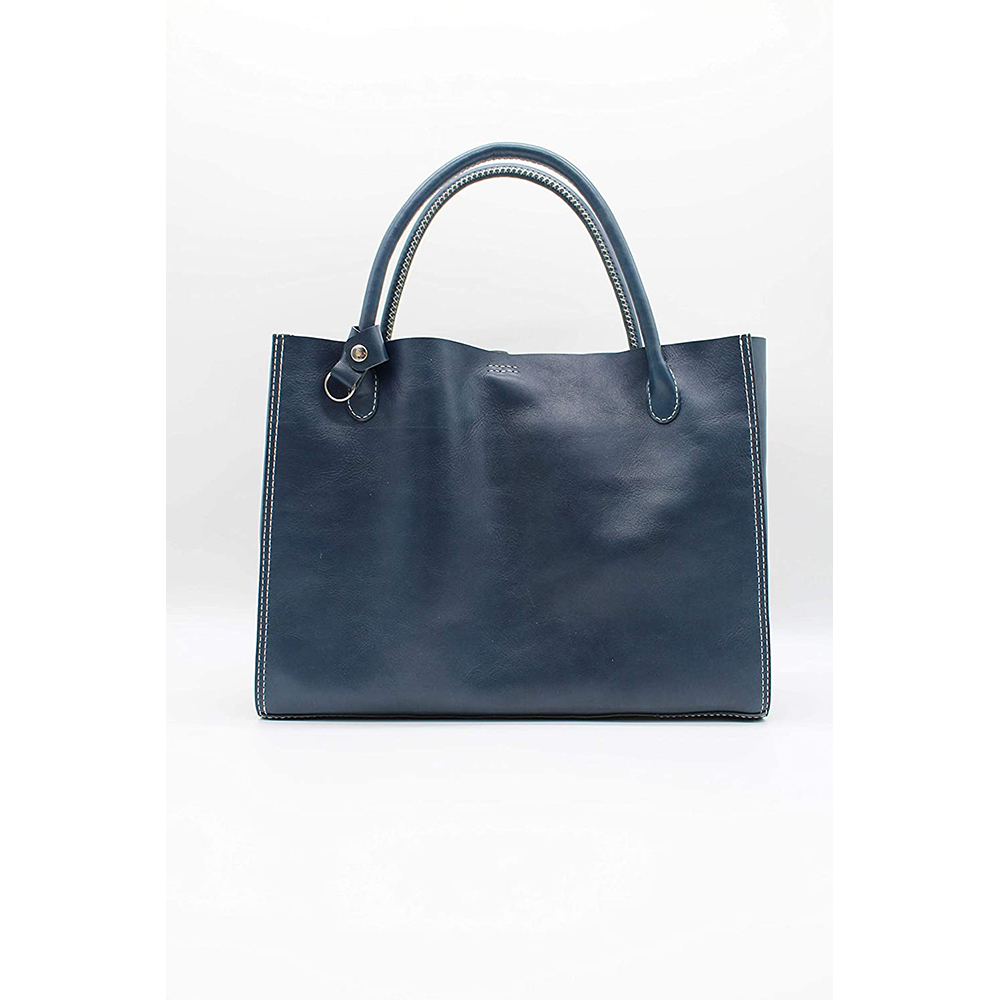 robotty genuine leather blue hand bag all hand gift present japan 4