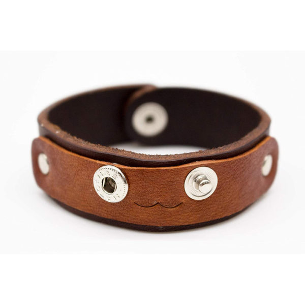 robotty leather bracelet 100 present gift genuine leather mens ladies fashion 4