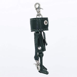 robotty robot Key ring gift present genuine leather pony japan 3
