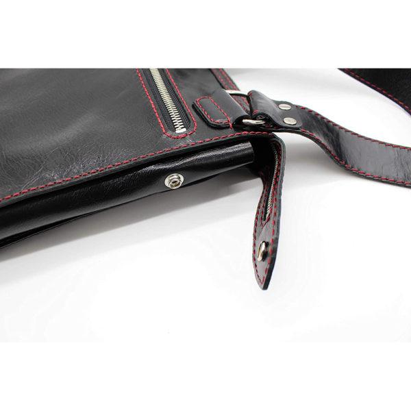 shoulder bag japan leather robotty gift present black mens ladies all hand 1