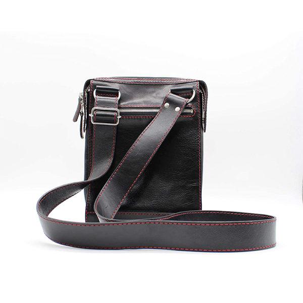 shoulder bag japan leather robotty gift present black mens ladies all hand 5