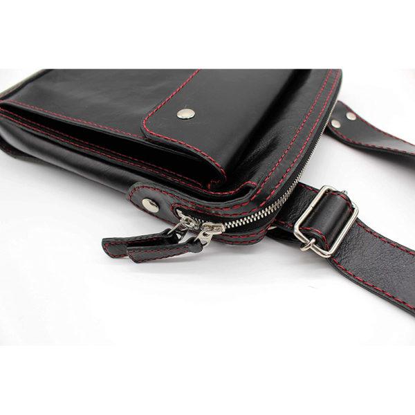 shoulder bag japan leather robotty gift present black mens ladies all hand 6
