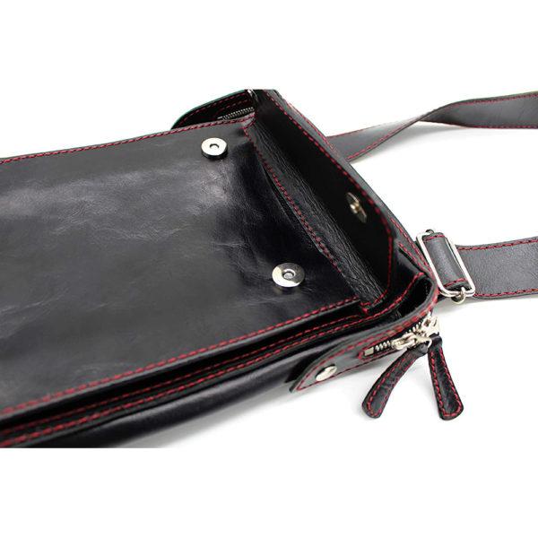 shoulder bag japan leather robotty gift present black mens ladies all hand 7