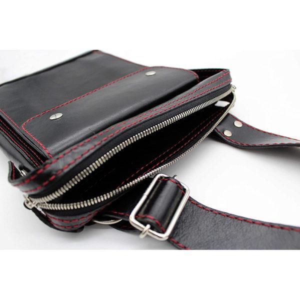 shoulder bag japan leather robotty gift present black mens ladies all hand 8