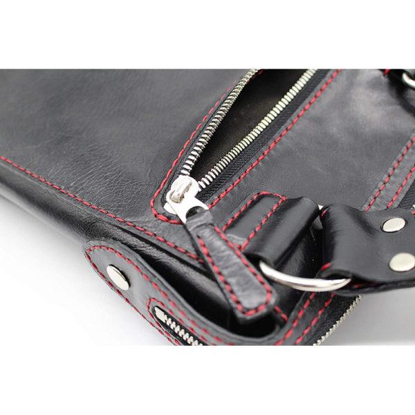 shoulder bag japan leather robotty gift present black mens ladies all hand 9