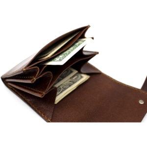 Robotty Luxury Genuine Leather Wallet All Hand